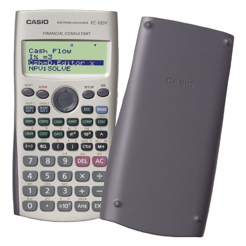 Calculadora Financiera Casio FC100V